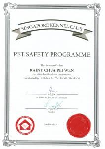 Pet Safety Pei Wen